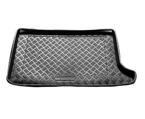 Rezaw-Plast Protector Maletero PVC Compatible con Audi A2 (1999-2005) + Regalo | Alfombrilla Maletero Coche Accesorios | Ideal para Perro Mascotas