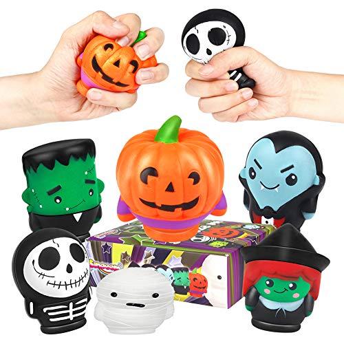 Sinoeem 6 Stück Squishies Squeeze Spielzeug - Langsam Dekompression Creme Duftenden Groß Squishy Set für Geschenk Kinder Erwachsene Jungen Mädchen