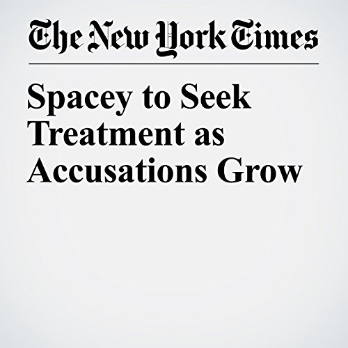 Spacey to Seek Treatment as Accusations Grow copertina