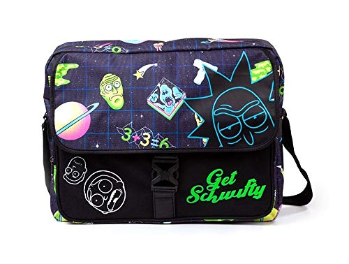 Rick and Morty - Get Schwifty - Umhängetasche | Offizielles Merchandise