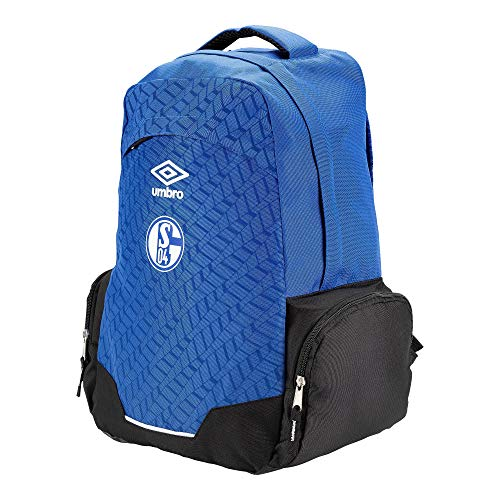 UMBRO Schalke 04 Backpack Rucksack (one Size, Blue)