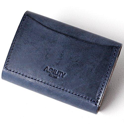 AGILITYaffaコインキャッチャーコンパクトウォレットバンクBANK日本製財布小銭入れコインケースメンズレディースアジリティアッファ<ロロマネイビー>