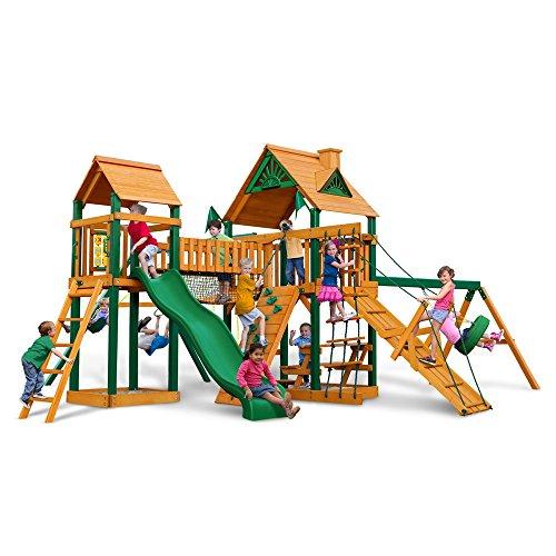 Big Sale Best Cheap Deals Gorilla Playsets Blue Ridge Pioneer Peak Playground System