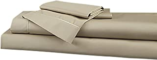 Degree5 DreamFit Bamboo Rich Premium Sheet Set (Split King, Sand)
