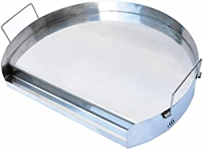 Onlyfire Universal Stainless Steel Kettle Griddle for BBQ Kettle Charcoal Grill, Ceramic Grills and Most Gas Grill, 18-inch