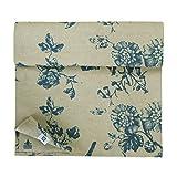 Linen & Cotton Runner da Tavola Impermeabile Fiore in Misto Tessuto Motivo Floreale - 59% ...