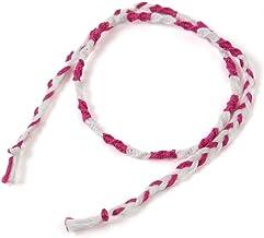 2020年バージョン(細い2色)ピンク。飛騨高山の組紐のブランド【くみひだ】。君の名は。の聖地、飛騨の職人の手作り。