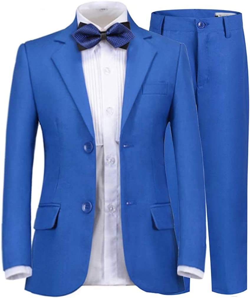 SaiLiiny Boys Formal Suit Max 47% OFF Set Genuine Free Shipping Complete Fit Outfit Slim fo Tuxedo