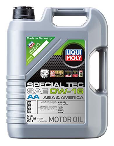 Liqui Moly 20328 Special Tec AA SAE 0W-16 Motor Oil, 5 Liter