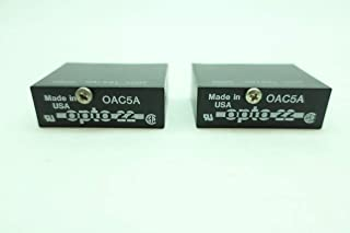 LOT of 2 New OPTO 22 OAC5A Relay Output Module D641380