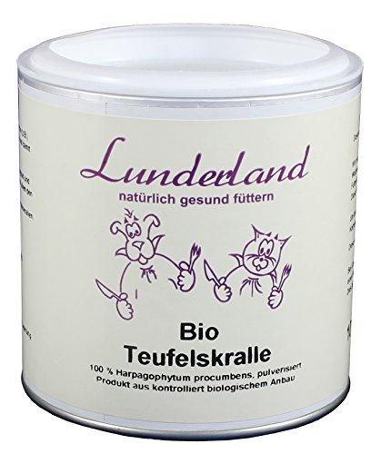 Lunderland - Bio Teufelskralle, 100 g, 1er Pack (1 x 100 g)
