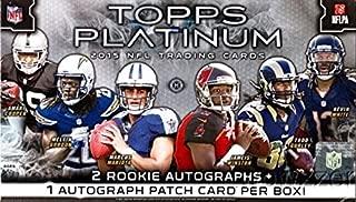 Best 2015 topps platinum football cards Reviews