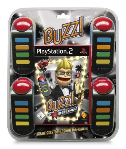 BUZZ! Das Film-Quiz inkl. 4 Buzzer