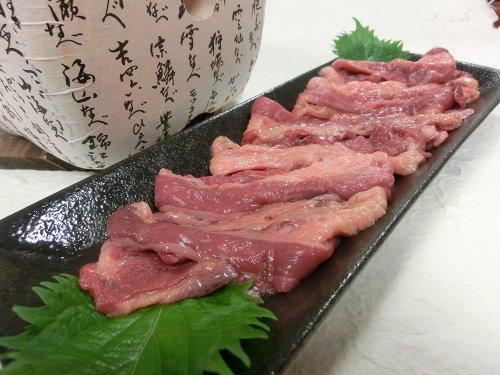国産さくら肉 焼き肉用バラスライス (800g)