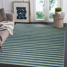 Clevr Non-Skid Natural Bamboo Area Rug 5'x8' (60