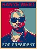 Kanye for President Hip Hop Music Songwriter...