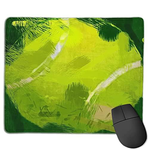 Mauspad,Abstrakter Tennisball, Anti-Rutsch-Gummibasis Gaming Mouse Pad Mat Desk Decor 9.5