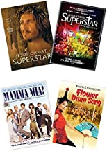 Ultimate Jesus Christ Superstar 2-Movie Double Feature DVD Collection: Jesus Christ Superstar (1973) / Jesus Christ Superstar: Live Arena Tour (2012) + 2 Bonus Musicals (Mamma Mia: The Movie / Flower