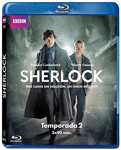 Sherlock - Temporada 2 [Blu-ray]