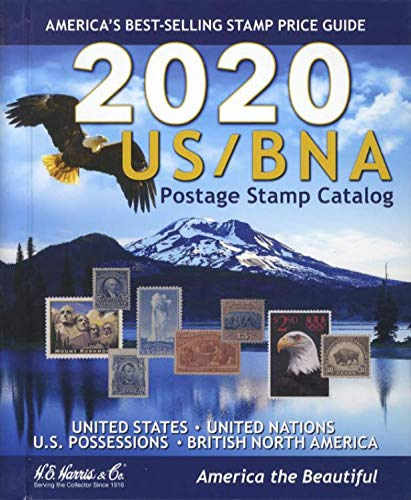 US/BNA Postage Stamp Catalog 2020: Unites States, United Nations Canada & Provinces : Confederate States, U.s. Possessions, U.s. Trust Territories, and Comprehensive U.s. Stamp Identifier