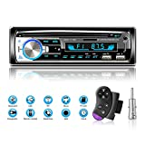 Lifelf Autoradios Bluetooth Mains Libres, Stéréo Radio 4 x 65W 1 DIN Radio Voiture Récepteur avec Lecteur MP3 WMA FM...