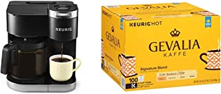 Keurig K-Duo Coffee Maker with Gevalia Signature Blend K Cup Coffee Pods, 100 count