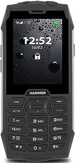 Hammer 4 Plus Dual SIM 128MB ROM + 64MB RAM (GSM Only | No CDMA) Factory Unlocked 3G Cell-Phone (Black) - International Ve...