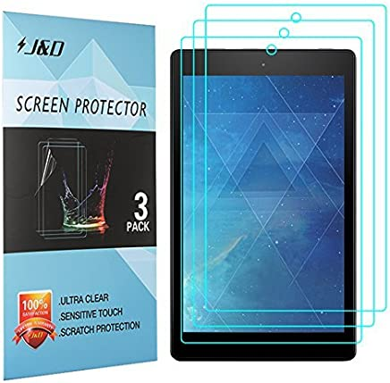 J&D Compatible for 3-Pack All-New Fire 7 2017/Amazon Fire 7