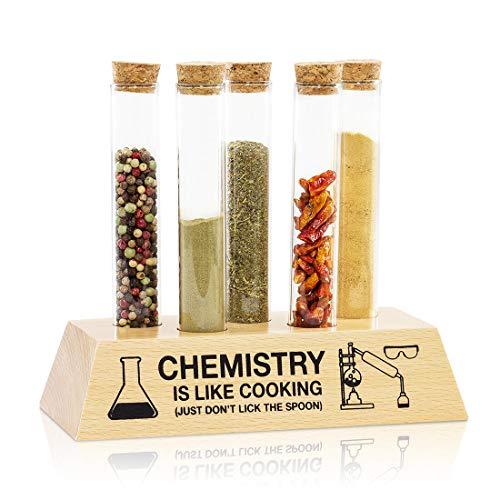 Chemist's Spice Rack Set