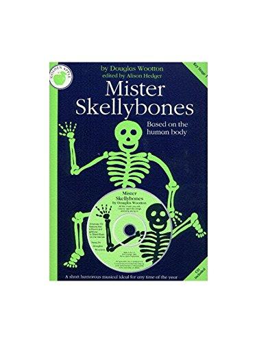 Douglas Wootton: Mister Skellybones (Teacher's Book/CD). Für Klavier, Gesang & Gitarre(mit Akkordsymbolen)