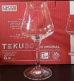 Rastal - boîte de 6 verres Modèle de dégustation de bière universelle TEKU 3.0 - 42 cl. (14,8 Imp.fl.oz.)