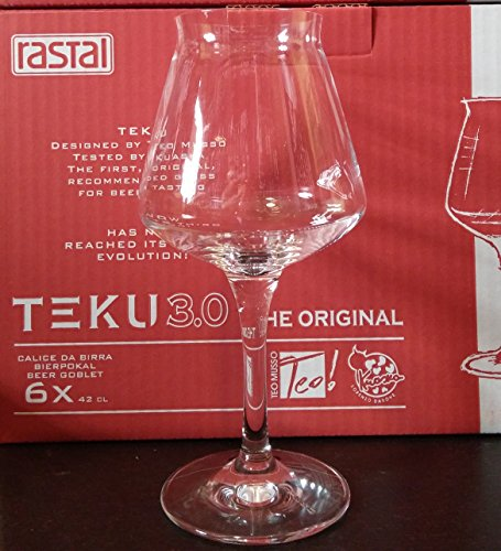 Rastal – set met 6 glazen model Universal TEKU 3.0 – 42 cl (14,8 Imp.fl.oz.)
