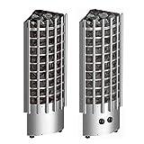 Harvia Saunaöfen Glow Corner - 9.0 kW, Steuereinheit: Eingebaut