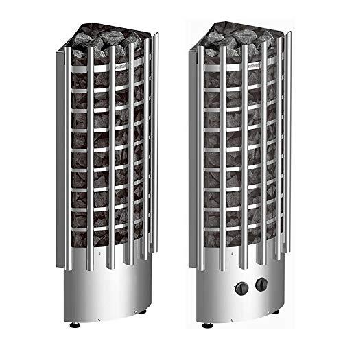 Harvia Poêle électrique Glow Corner (6.8 KW, Tableau de Commande: Intégré)