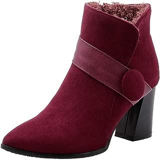 BalaMasa Womens ABS13961 Pu Boots