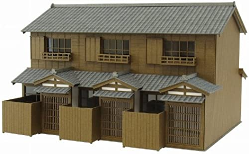 1 87 Szene Mietshaus Series 2 (Papiermodelle)
