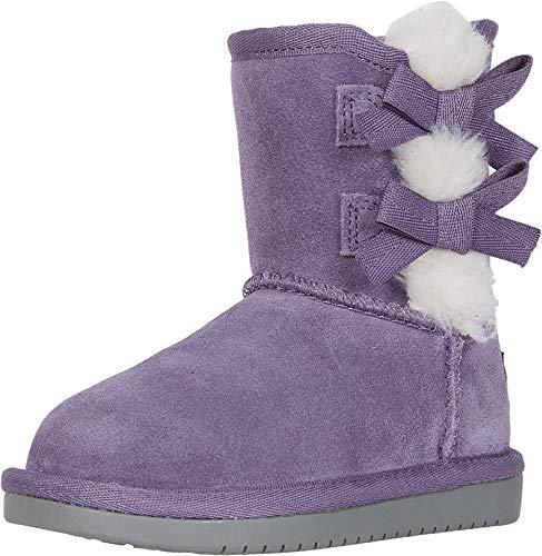 Koolaburra by UGG unisex child Victoria Short Fashion Boot, Montana Grape, 7 Toddler US