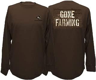 John Deere Gone Farming Long Sleeve T-Shirt