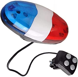 Electronic Bike Horn 4 Sounds Alarm Bell voor Bicycle Safety Cycling Waarschuwing Bell