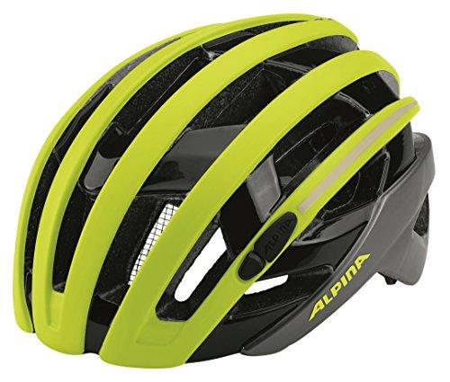 Alpina casco per Camp Iglio, Unisex, CAMPIGLIO, Be Visible, 51-56