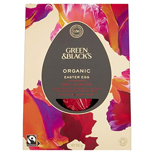 Green & Black's Organic Dark Collection Large Easter Egg 345 g