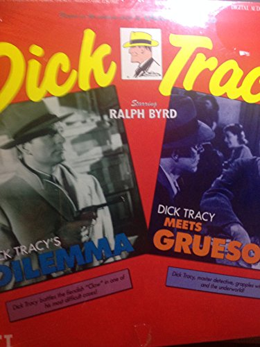 DICK TRACY---(DICK TRACY'S DILEMA) & (DICK TRACY MEETS GRUESOME)---LASERDISC