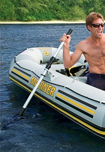 Unibos Kayak Paddle Set Multi-Coloured Boat Oars Dual Purpose Brand New