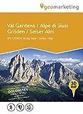 3D-Wanderkarte Gröden / Seiser Alm: Carta escursionistica 3D Val Gardena / Alpe di Siusi (Kombinierte Sommer-Wanderkarten Südtirol / Topografische Karte + 3D-Panoramakarte)
