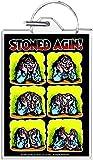 Road Rage Stoned Agin - R. Crumb Keychain
