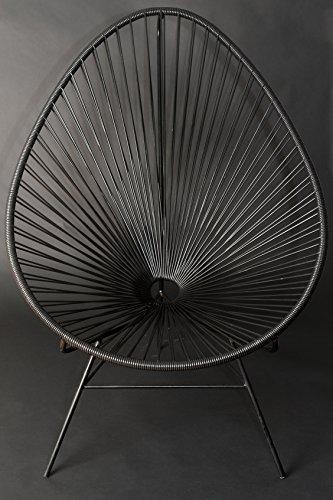 Mayalma Fede Messicano Nero Acapulco Chair