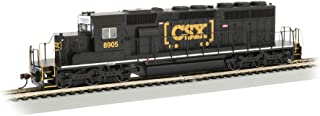 EMD SD40-2 Dcc Equipped Diesel Locomotive CSX #8905 (HTM) - Black - HO Scale