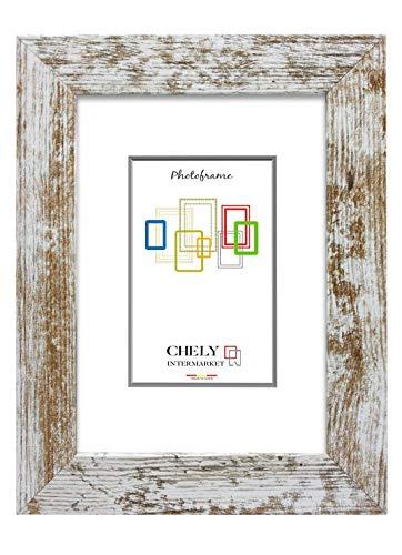 Chely Intermarket, Marcos de Foto Grande 30x45cm | Vintage | Mod-204 | Marco de Fotos para Decoración de Casa | Fotografías de Boda | Fotos de Paisajes | Listado de Precio.