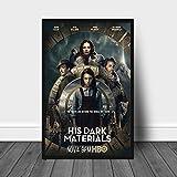 YYAYA.DS Cuadros Decorativos His Dark Materials TV Movie Poster Home Wall Painting Decor 60x90cm