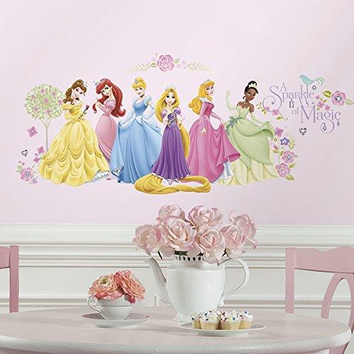 RoomMates Disney Princess - Glow Princess Peel & Stick Wall Decals